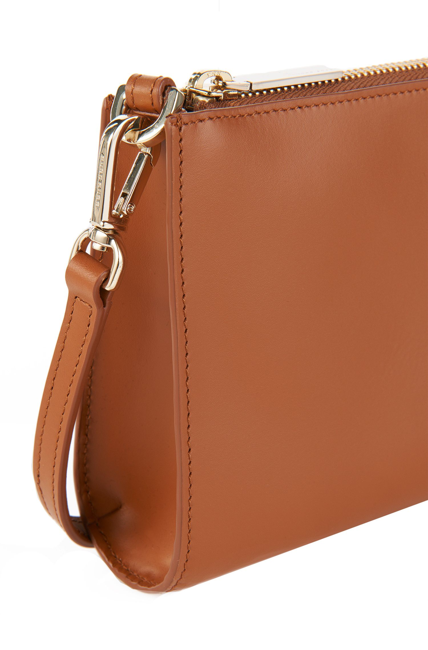 Bolso de mano en piel lisa: 'Staple Mini Bag-C', Marrón
