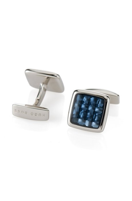 Cufflinks: 'Peter', Blue