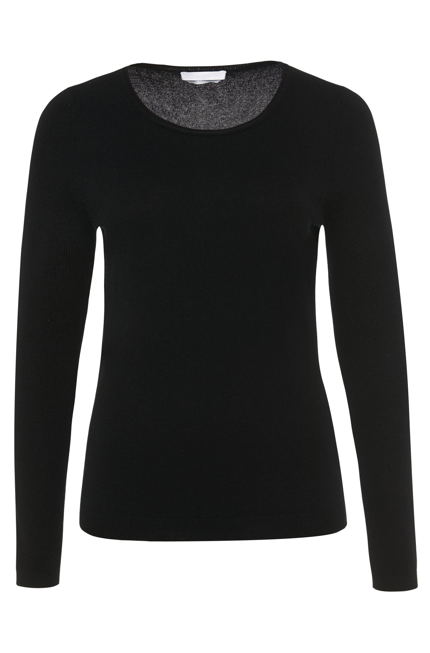 Sweater in pure cashmere: 'Fayna'