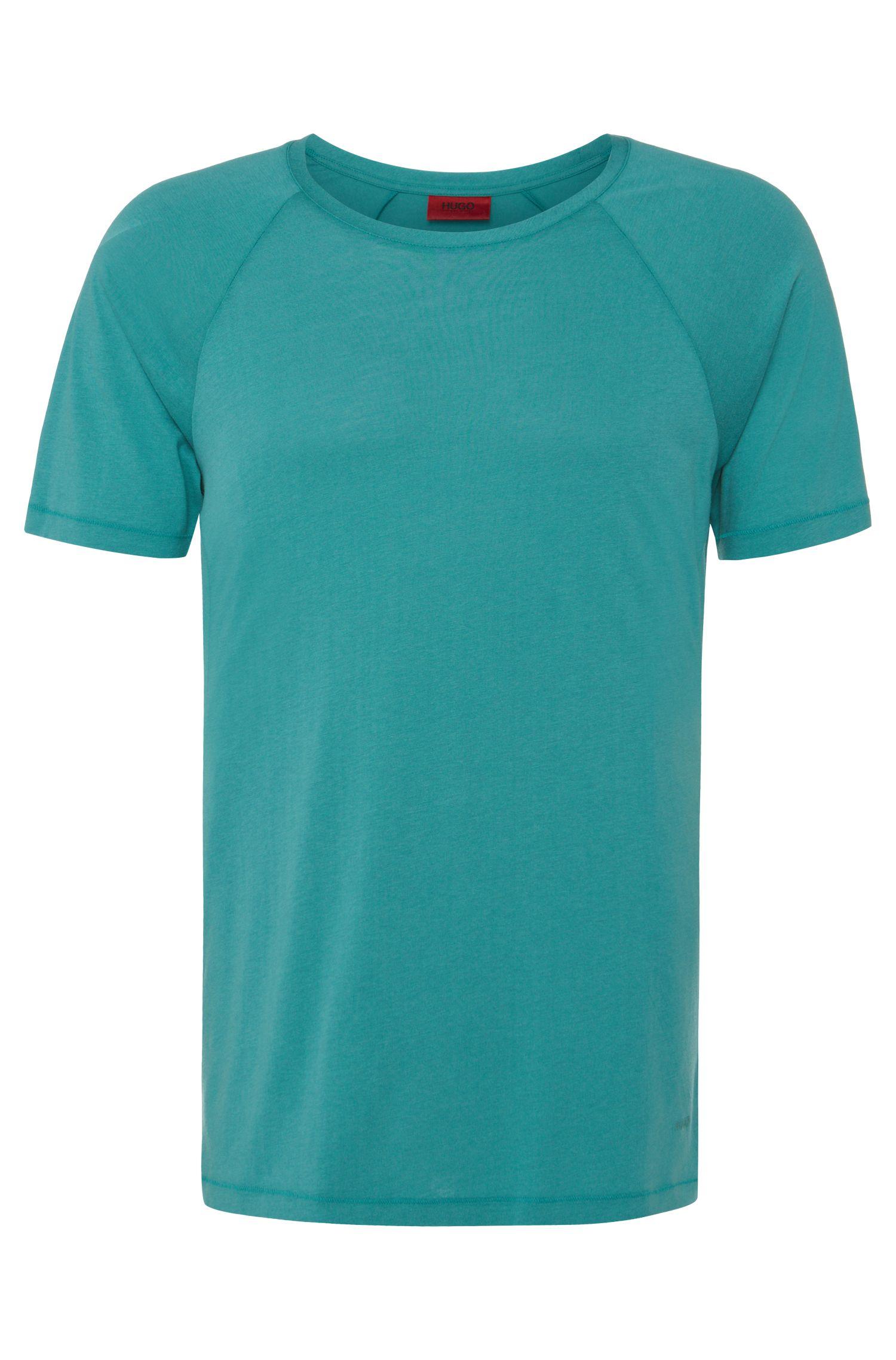 Regular-Fit T-Shirt aus Baumwoll-Mix: 'Drapo'