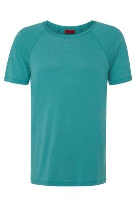 T-shirt Regular Fit en coton mélangé: «Drapo», Vert