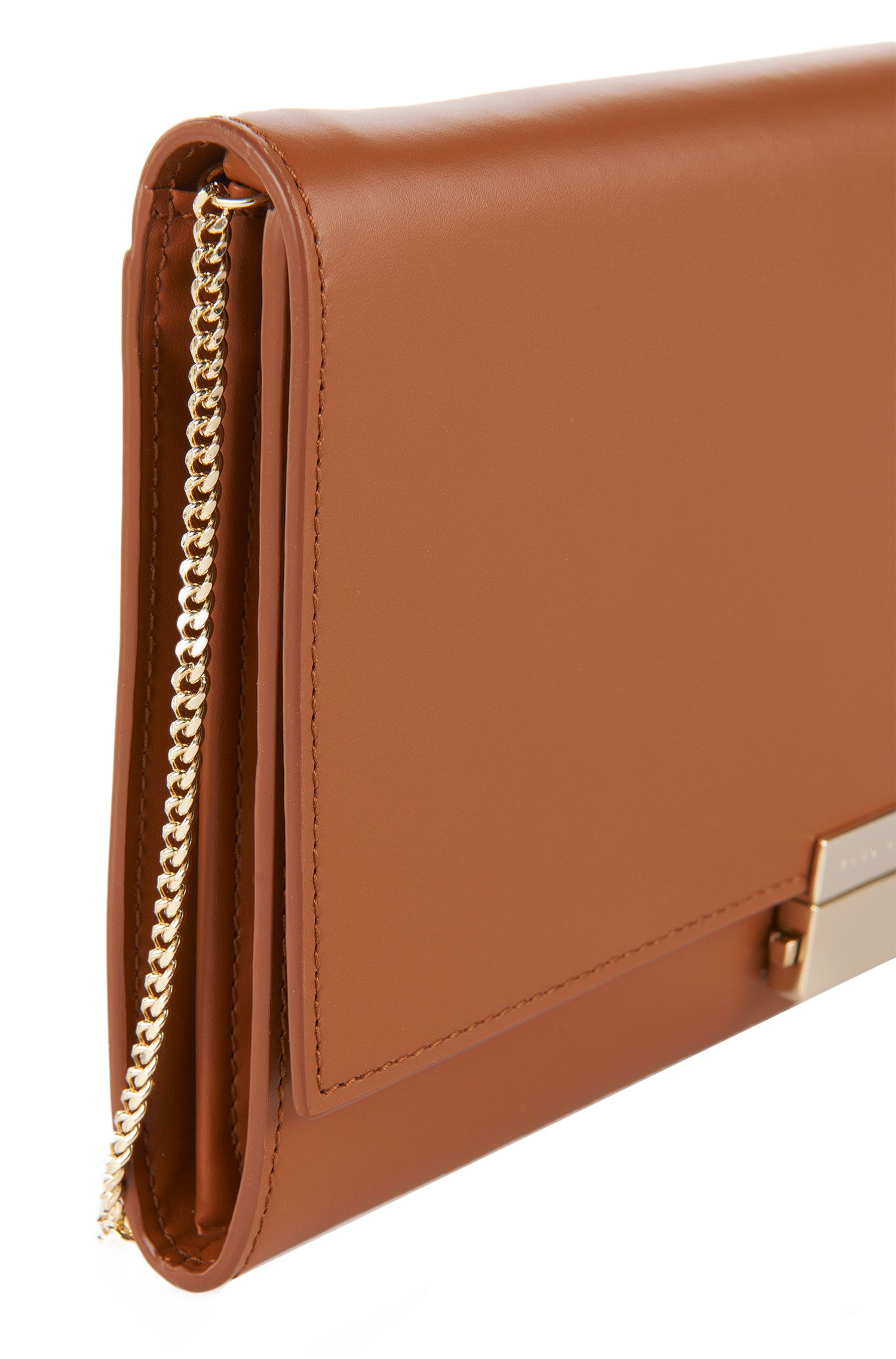 Pochette in pelle: 'Munich Mini', Marrone