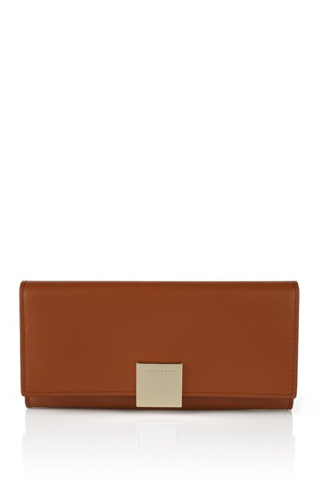 Leather wallet: 'Munich Continental', Brown