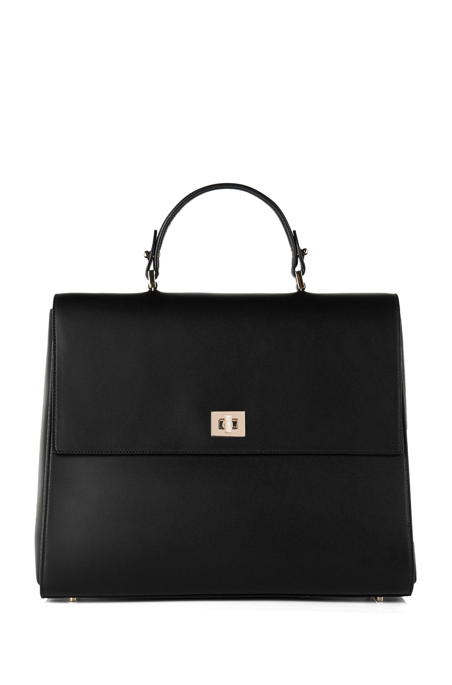 BOSS Bespoke handbag in smooth leather