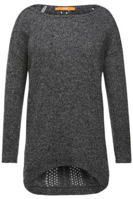 Pullover aus hochwertigem Material-Gemisch: ´Wiltoriette`, Grau