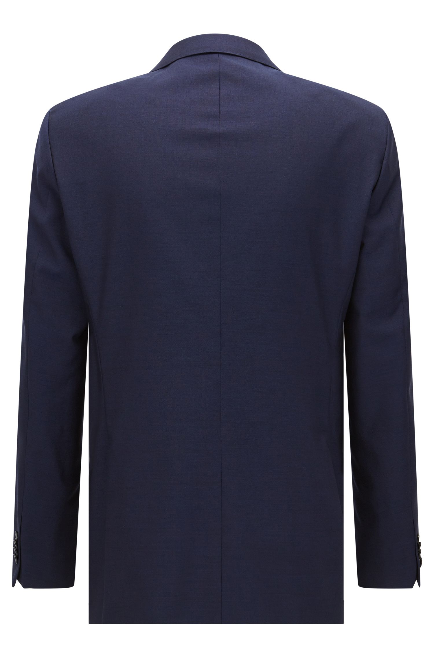 Regular-fit suit jacket in virgin wool