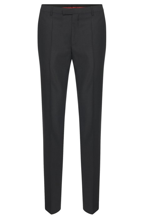 HUGO BOSS Pantalon Regular Fit en laine vierge acN9we1XU