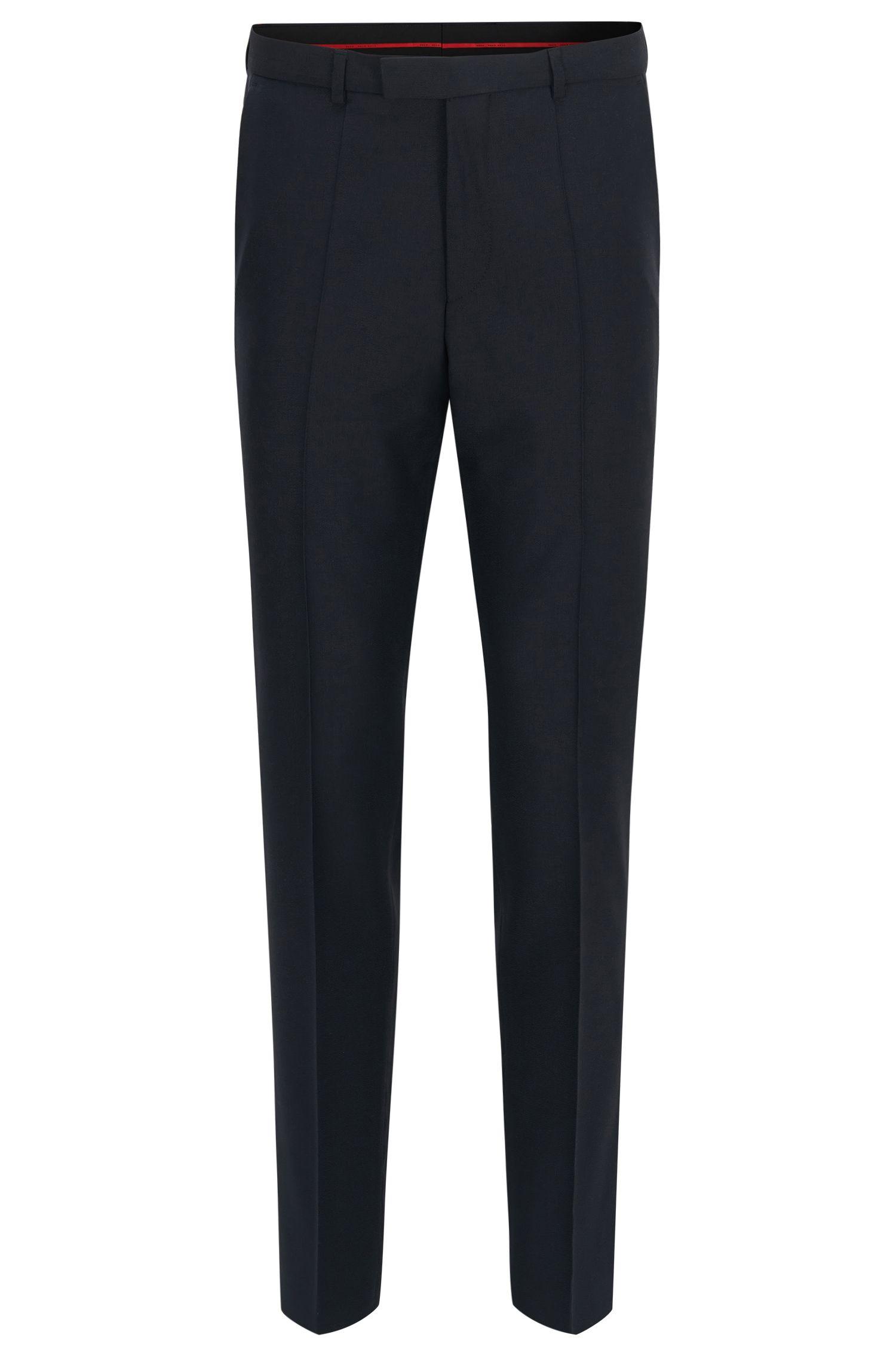 Regular-fit trousers in virgin wool by HUGO Man