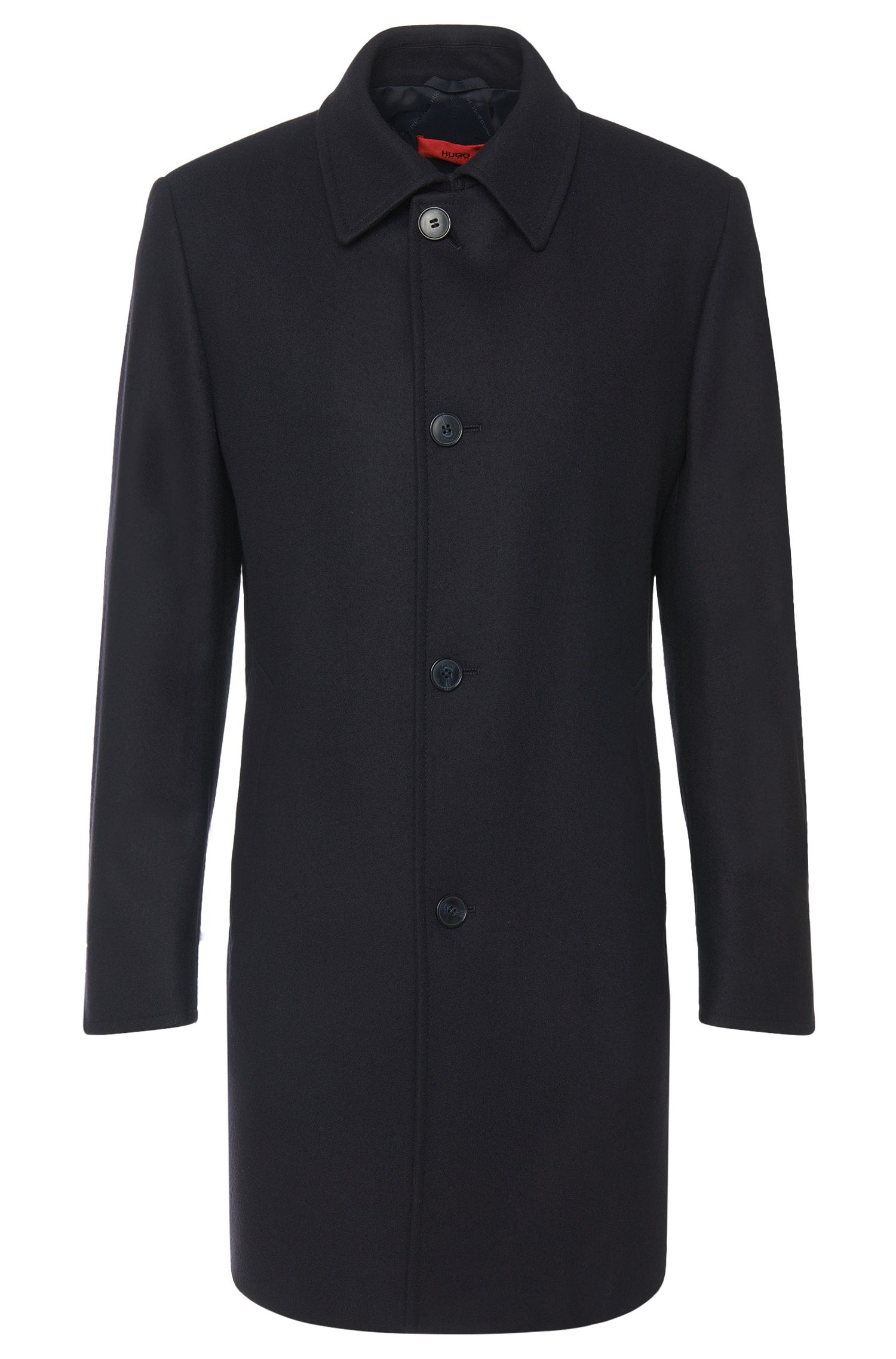 Manteau Regular Fit en laine vierge mélangée: «C-Task»