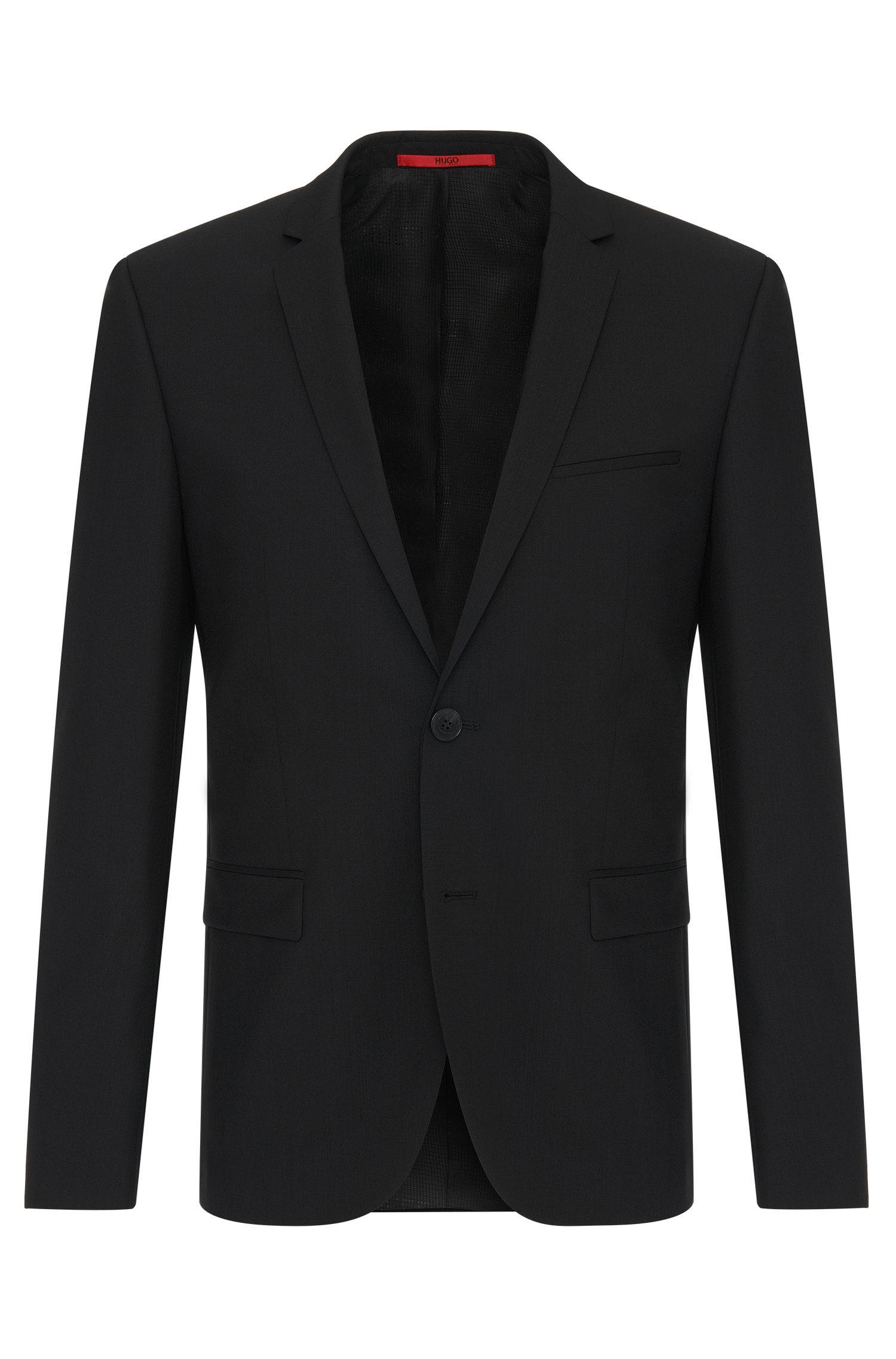 Veste de costume Extra Slim Fit en laine stretch