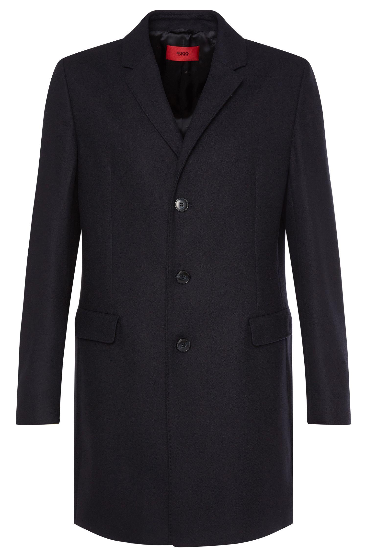 Abrigo en mezcla de lana virgen: 'Migor2'