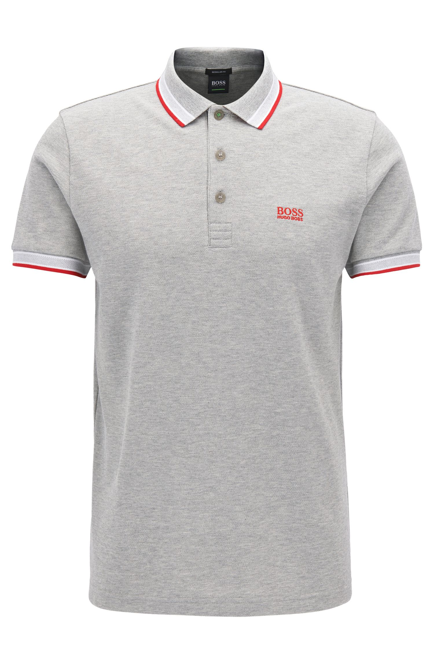 Polo Regular Fit en maille piquée
