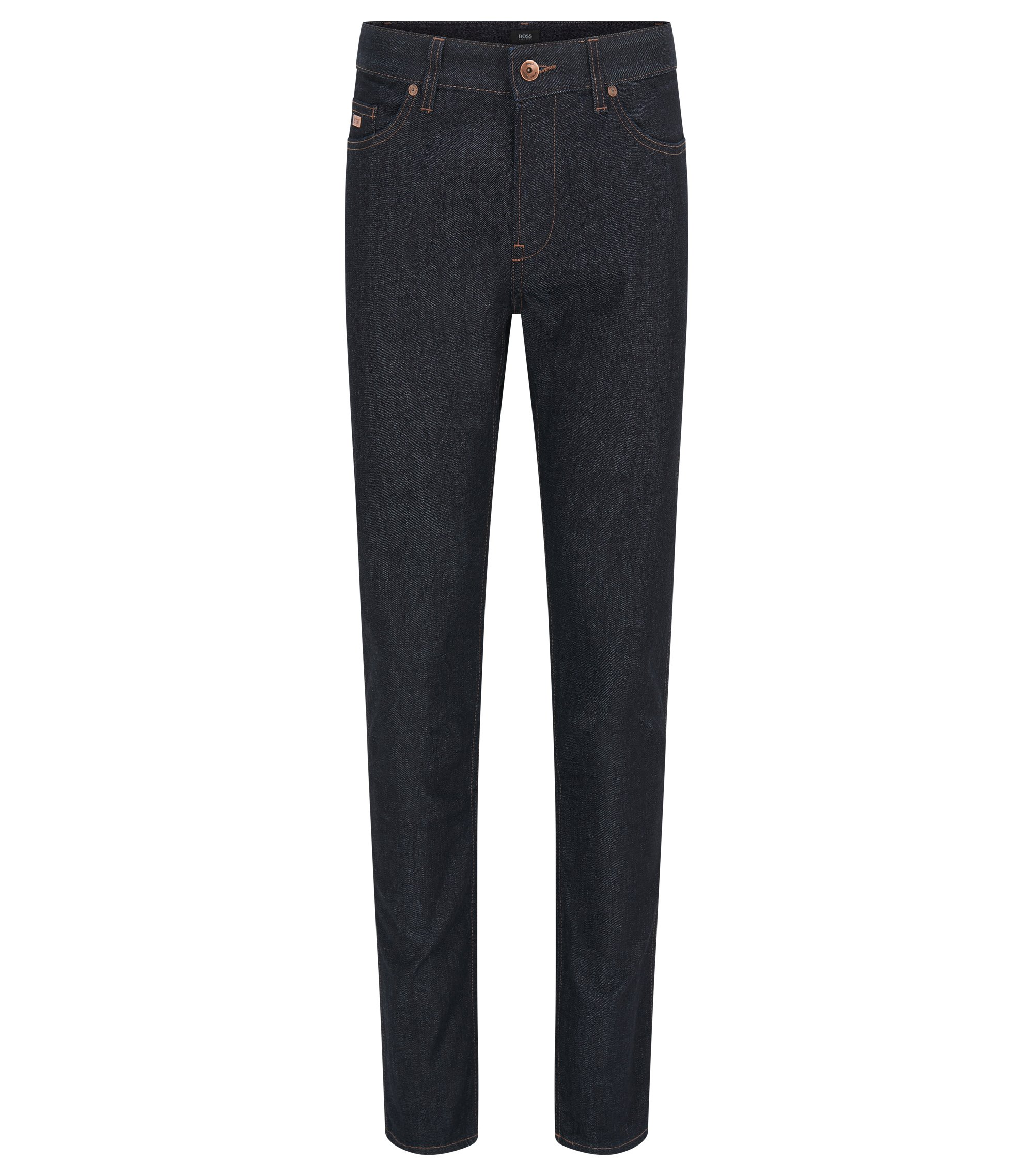 Slim-fit jeans in stretch denim, Dark Blue