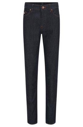 Slim-fit jeans in recycled stretch denim BOSS kT7RIj