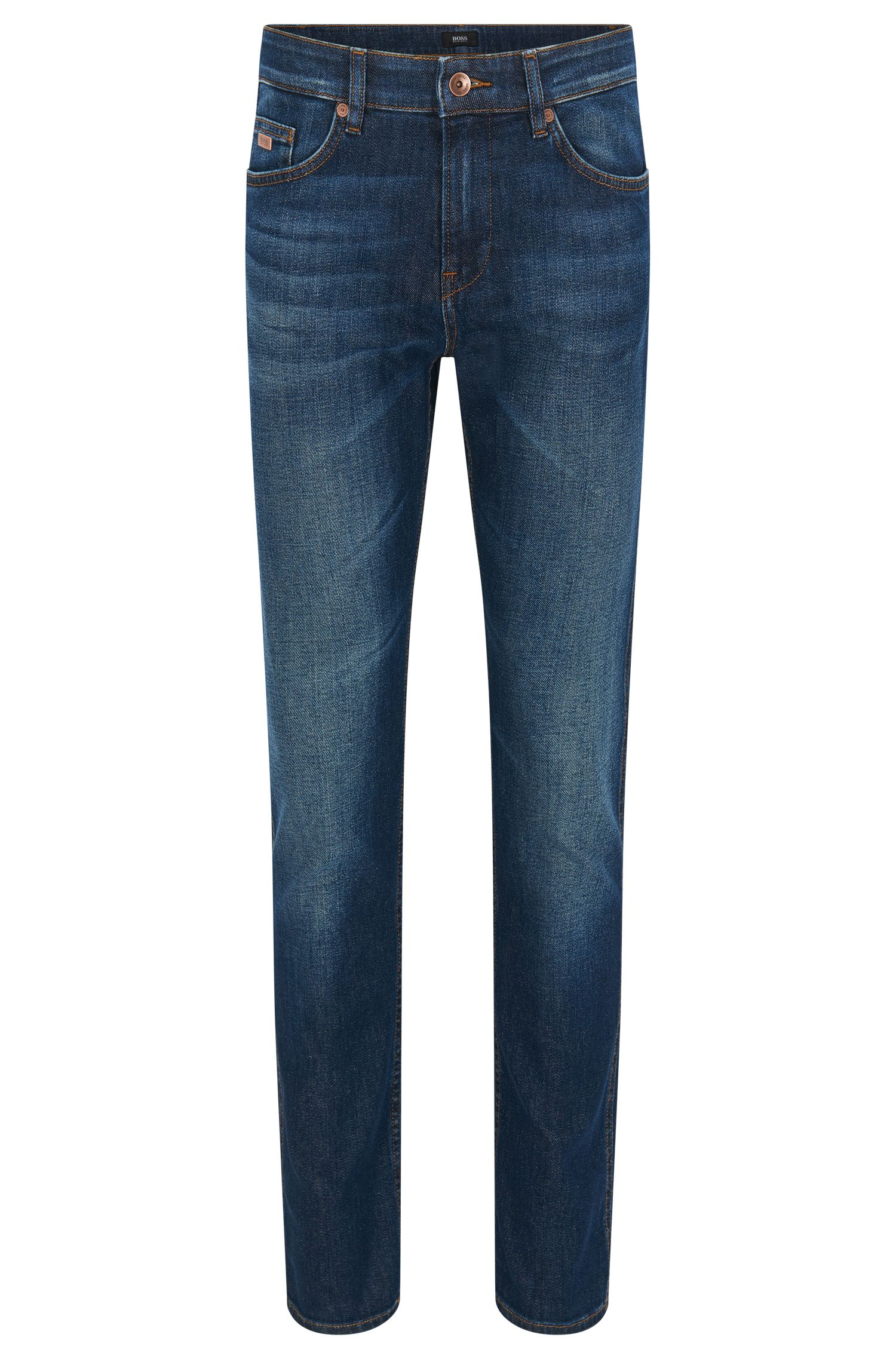 Slim-fit jeans van stretchdenim