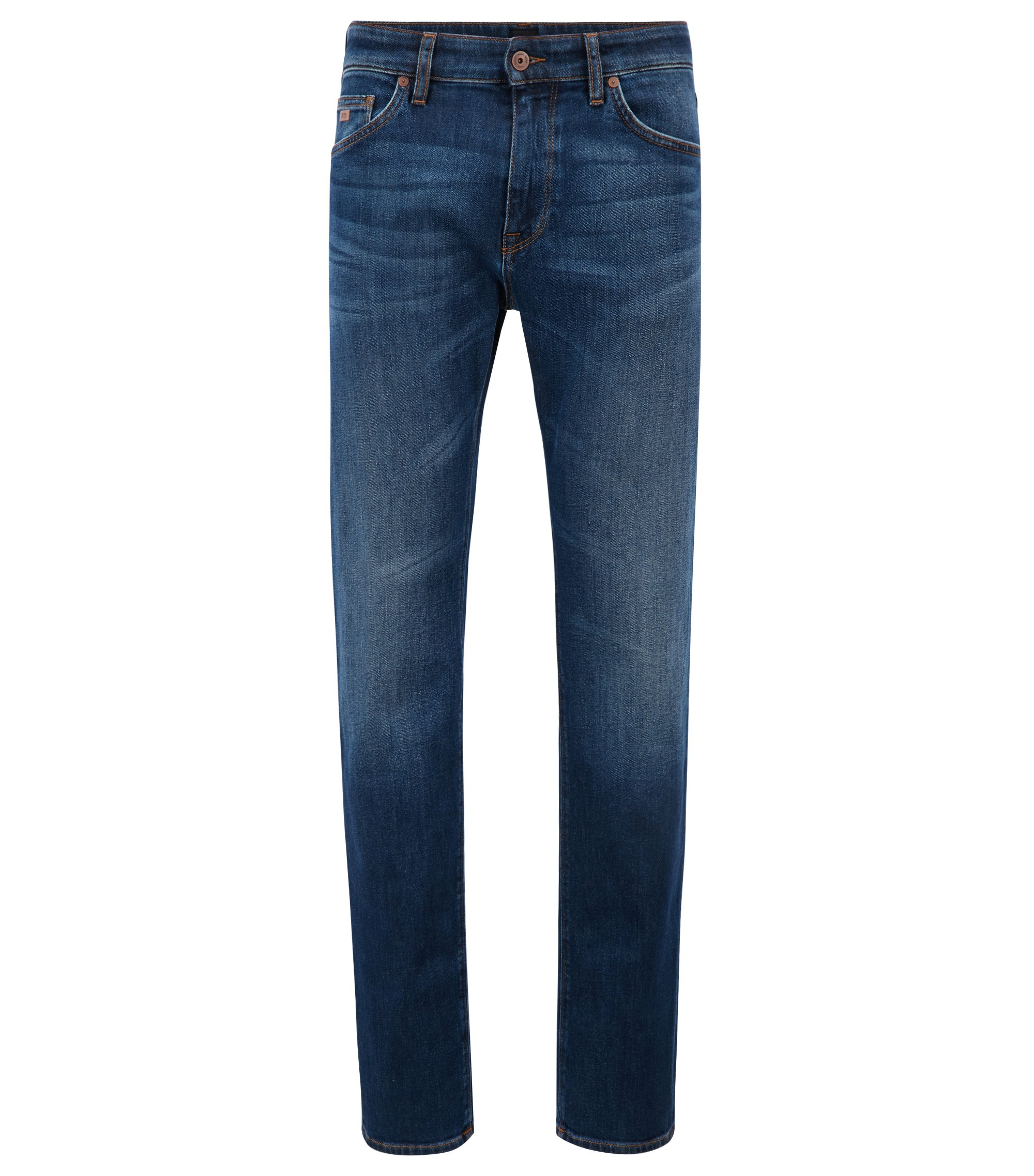 Regular-fit jeans van stretchdenim, Blauw
