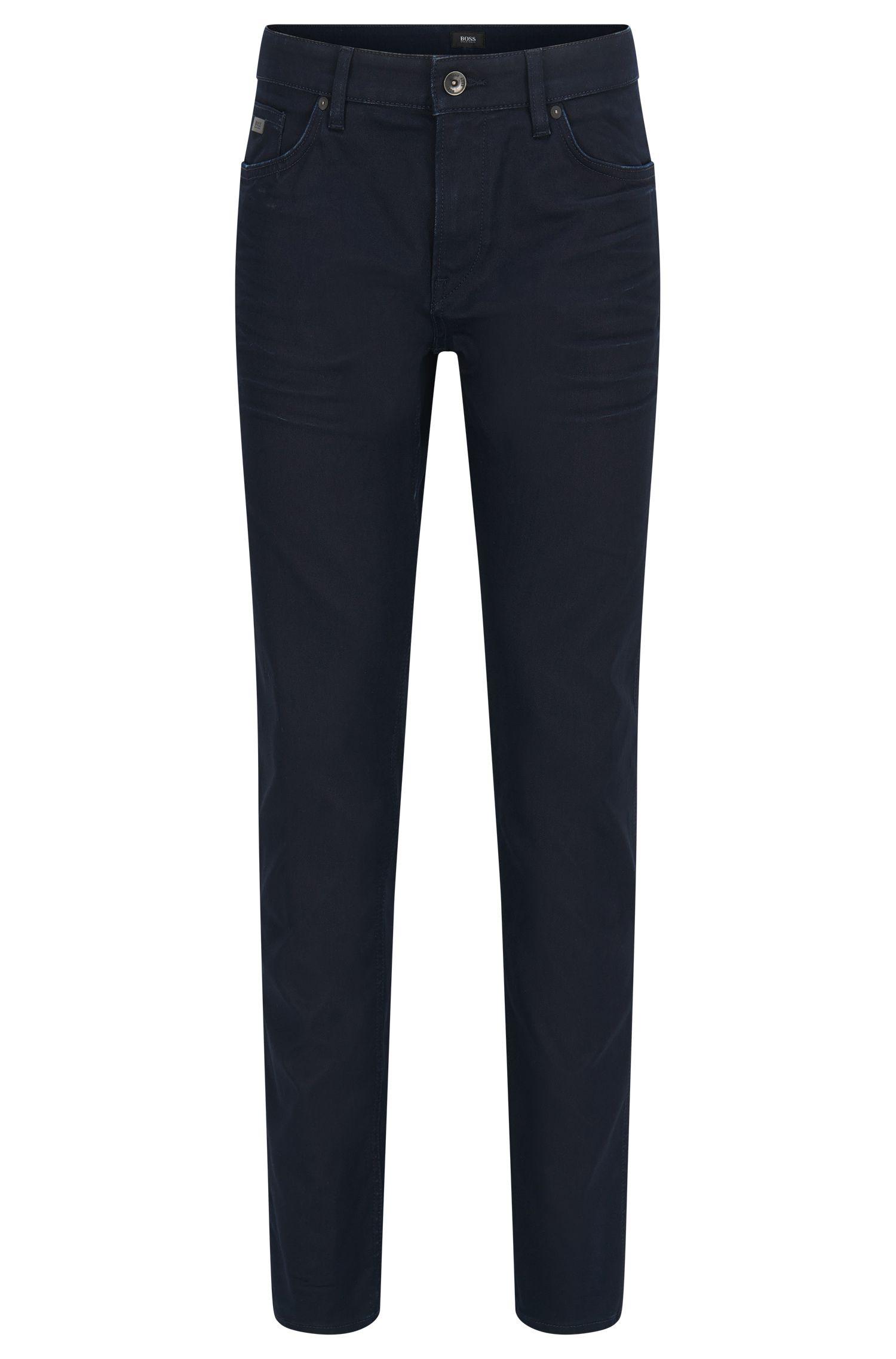 Jeans Slim Fit en denim italien fin