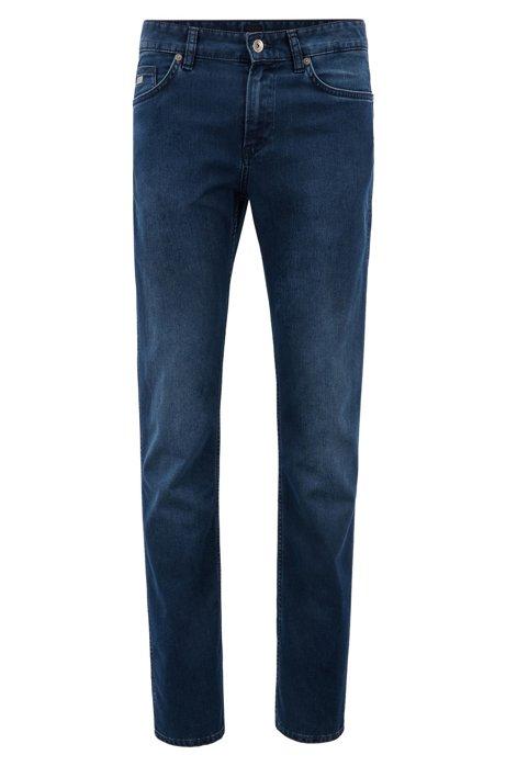 b0503b3604e30 BOSS - Slim-fit jeans in stretch denim
