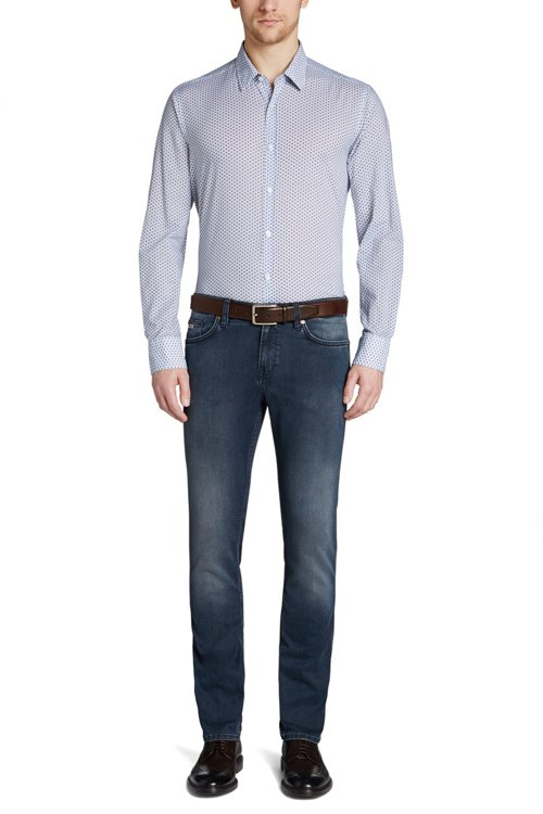 Hugo Boss - Vaqueros slim fit en denim elástico - 2