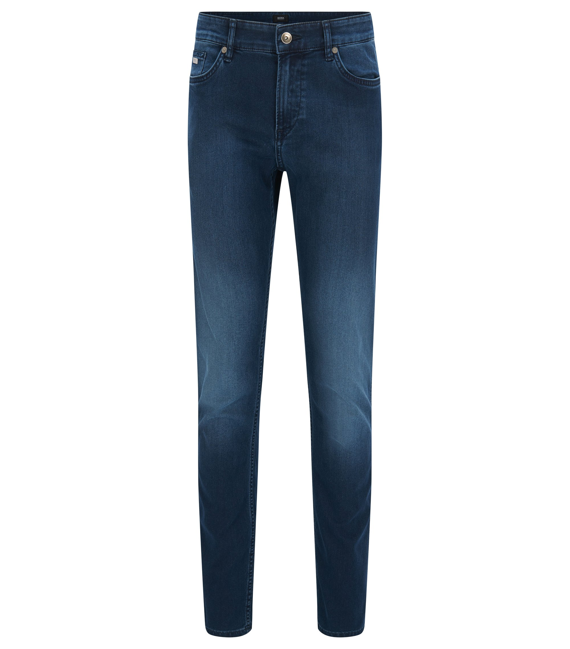 Jeans slim fit in denim elasticizzato , Blu