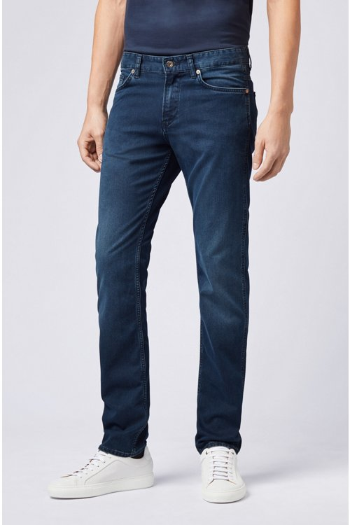 Hugo Boss - Vaqueros slim fit en denim elástico - 4