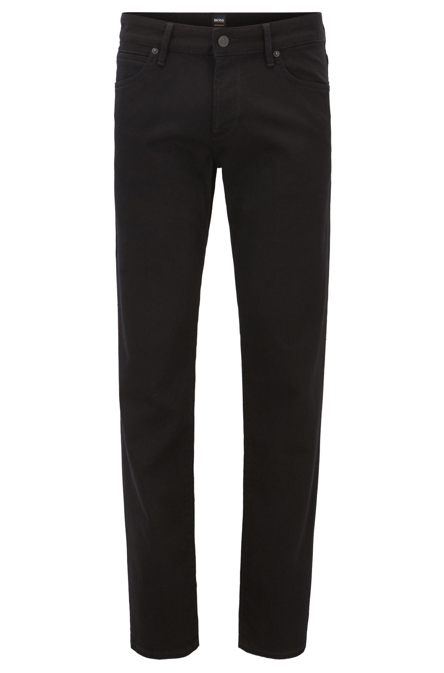 Jeans Regular Fit en denim noir Stay Black