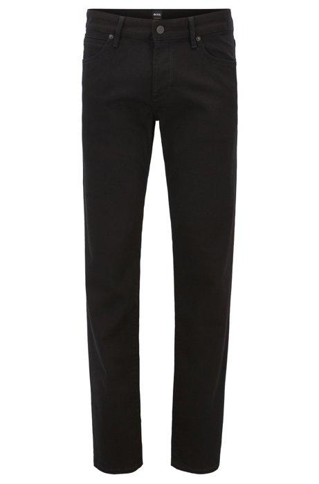 Regular-fit jeans in Stay Black denim BOSS Cheap Sale Eastbay Cheap Nicekicks Cheap Sale Outlet Store elu277x5