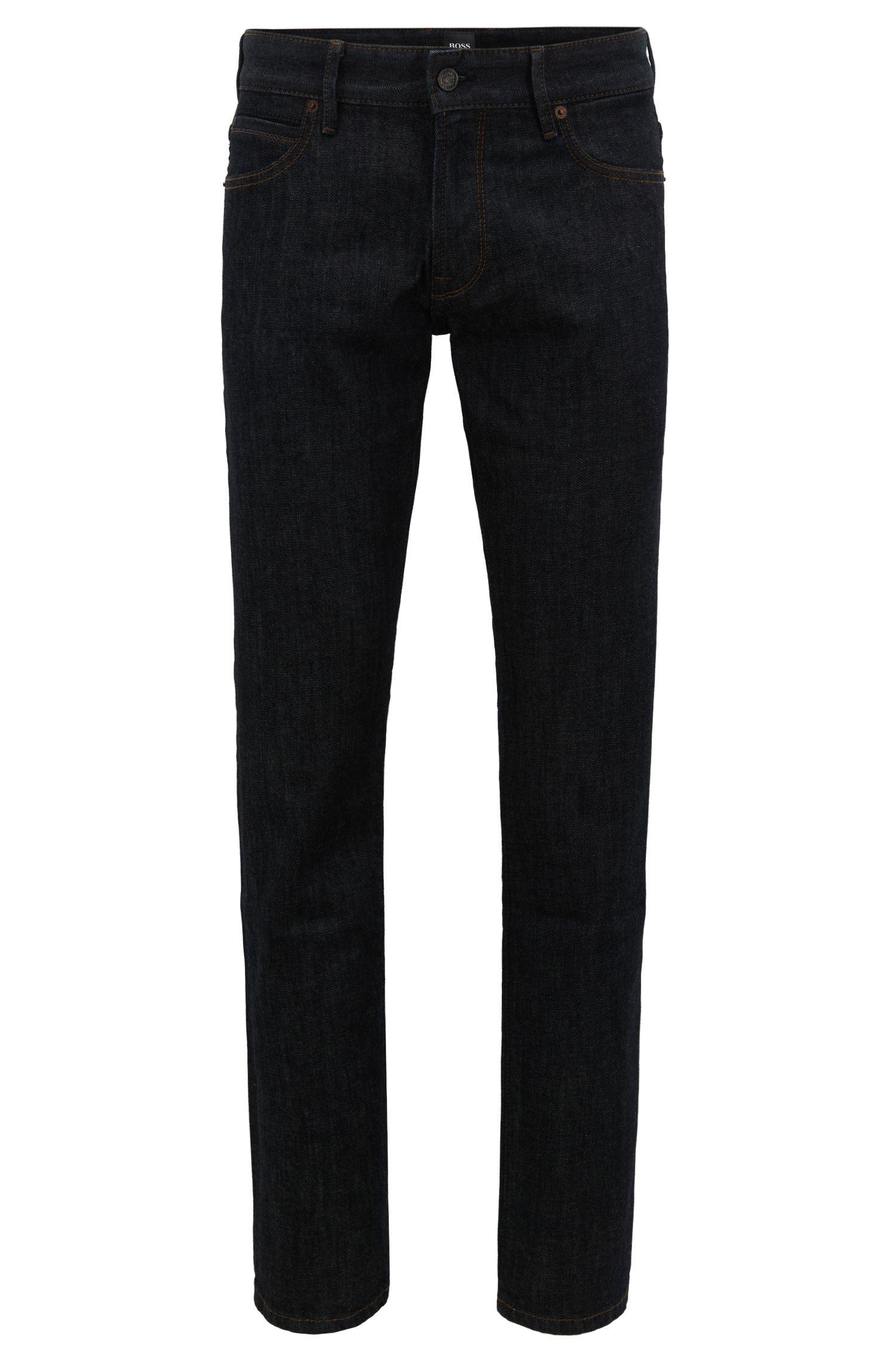 Regular-Fit Jeans aus softem Stone-washed Denim