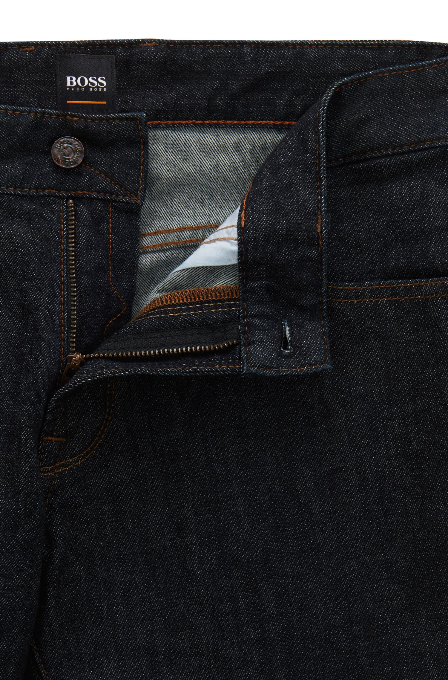 Jeans regular fit in morbido denim stonewashed