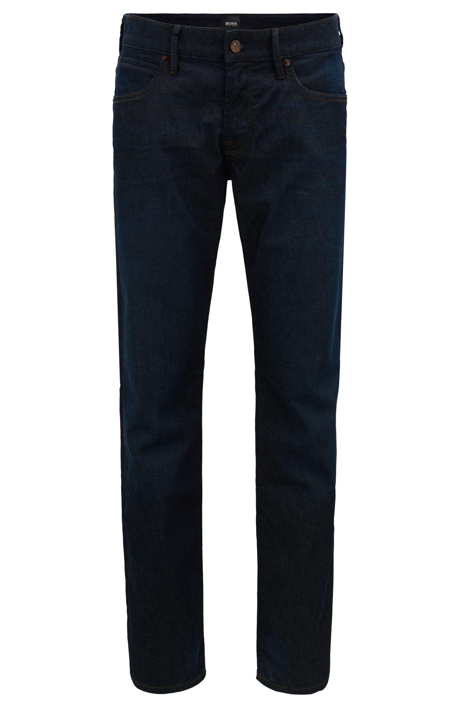 Jeans Regular Fit en denim indigo stretch
