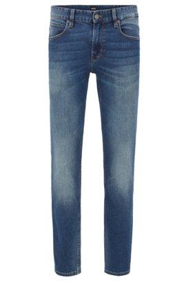 HUGO BOSS Jeans Slim Fit en denim indigo lavé FH7jyH