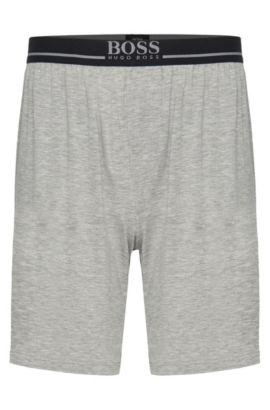 Shorts en modal elástico: 'Short Pant EW', Gris
