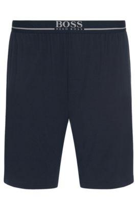 Shorts aus Stretch-Modal mit Elastikbund: 'Short Pant EW', Dunkelblau