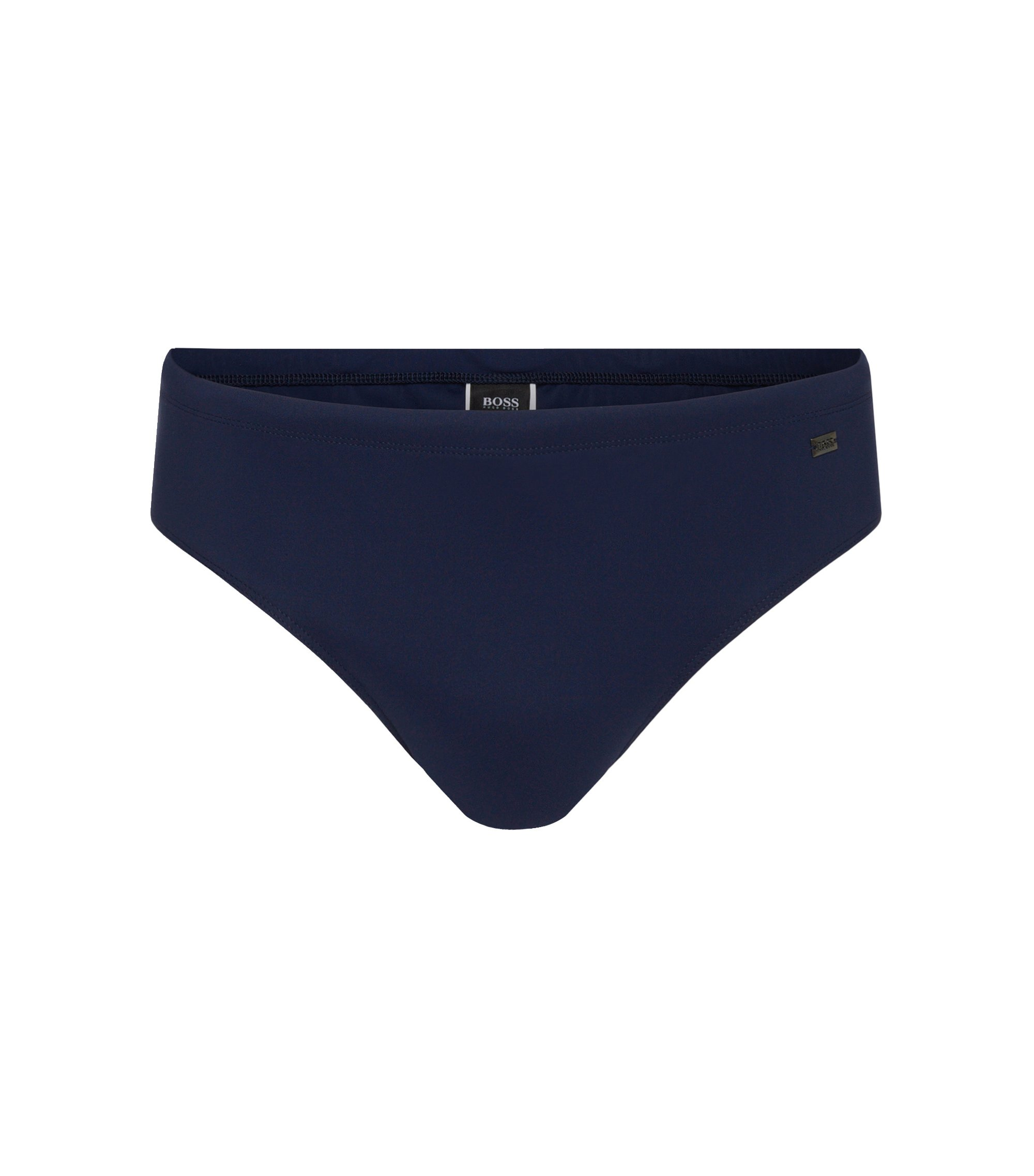 Short swim briefs with UV protection , Dark Blue