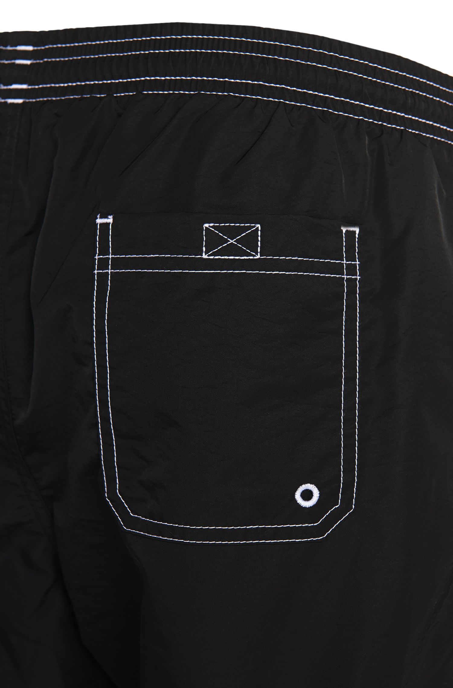 Maillot de bain en tissu technique, Noir