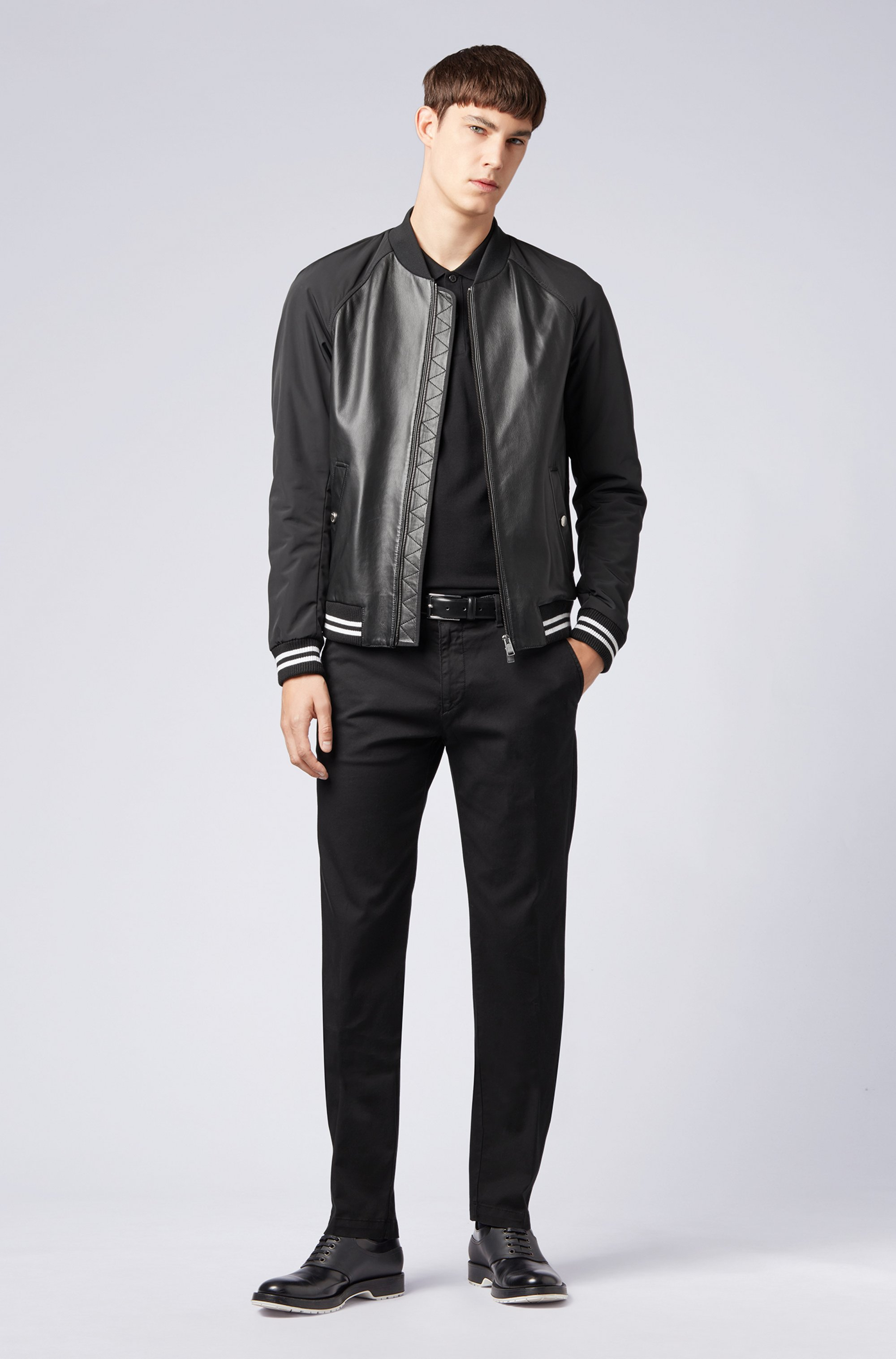Regular-fit polo shirt in Pima-cotton piqué