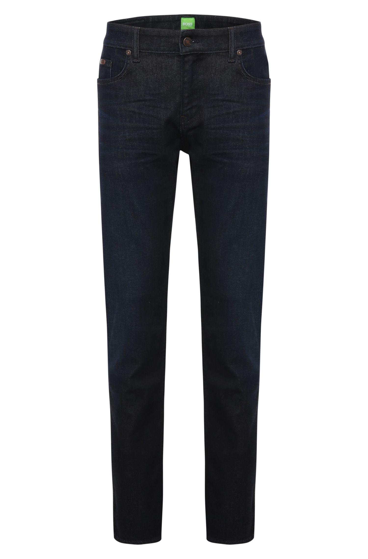 Jeans Slim Fit en coton mélangé stretch: «C-Delaware1»