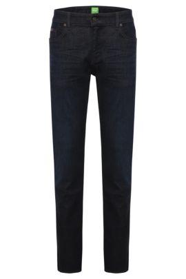 Slim-Fit Jeans aus stretchigem Baumwoll-Mix: ´C-Delaware1`, Dunkelblau