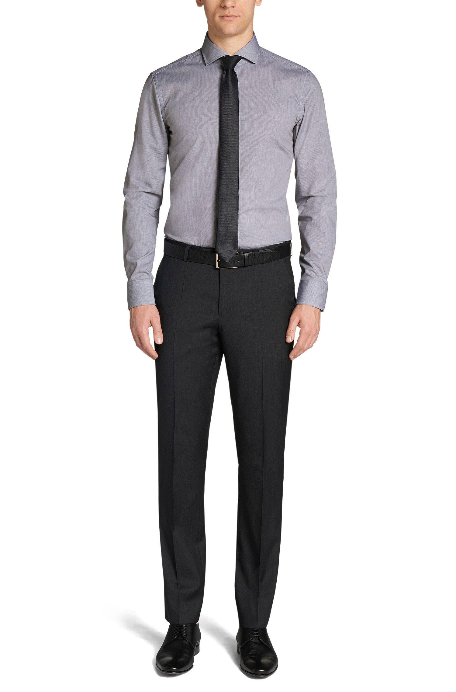 Slim-Fit Hemd aus Baumwolle: 'Jason'