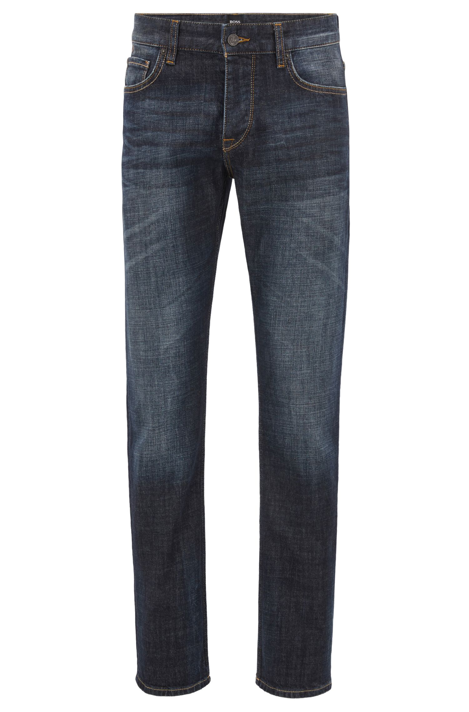 Regular-fit jeans in soft stretch denim