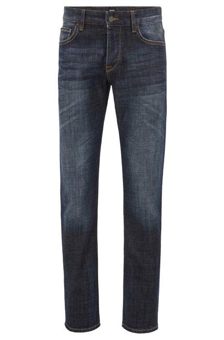 Regular-fit jeans in soft stretch denim BOSS Sale Largest Supplier Outlet Shop Clearance Big Discount u8zEgHQ