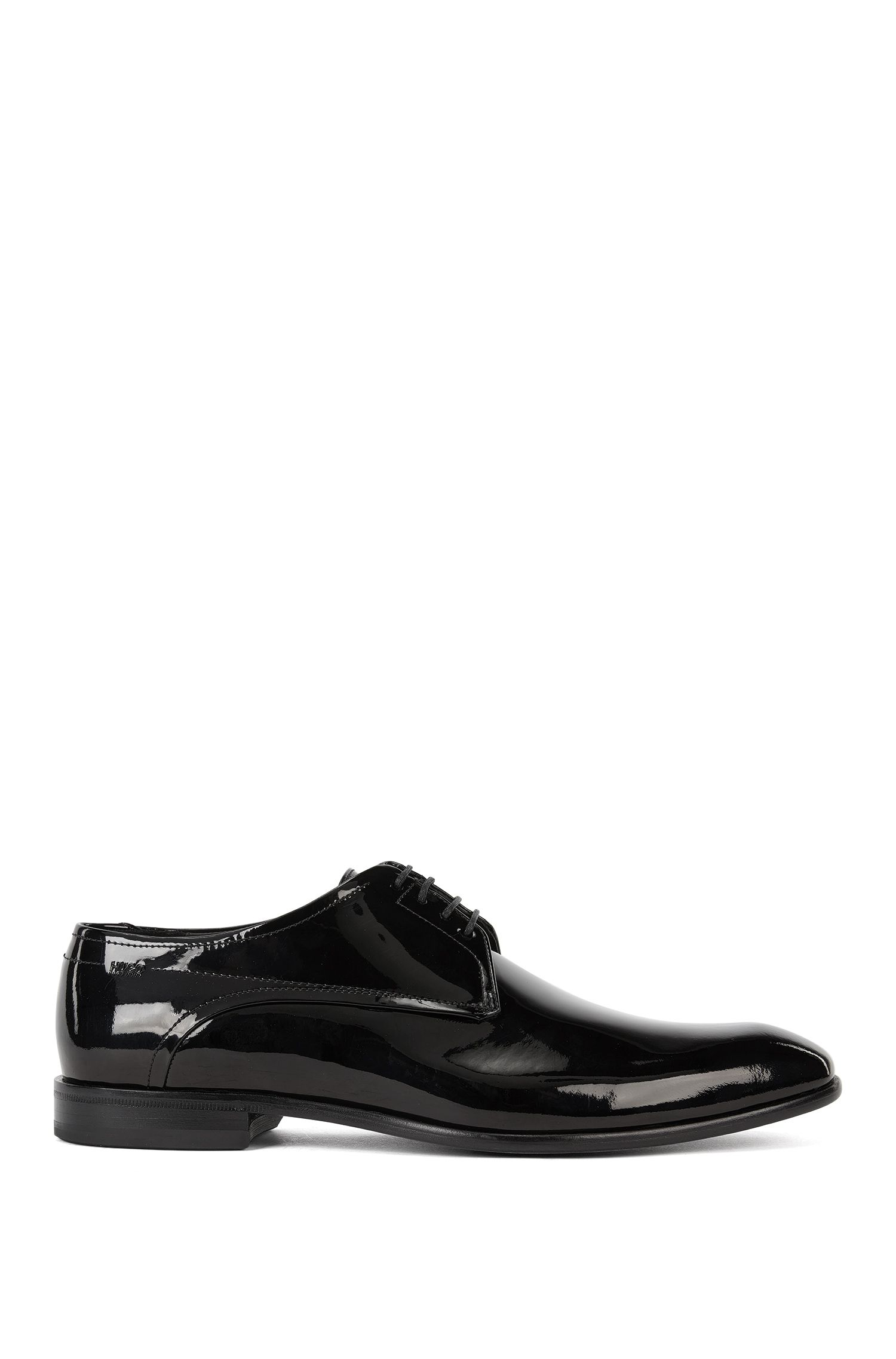 Derbies en cuir verni HUGO Homme