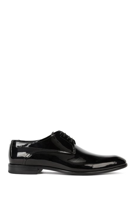 43932085bc0e3 HUGO - Patent leather Derby shoes by HUGO Man