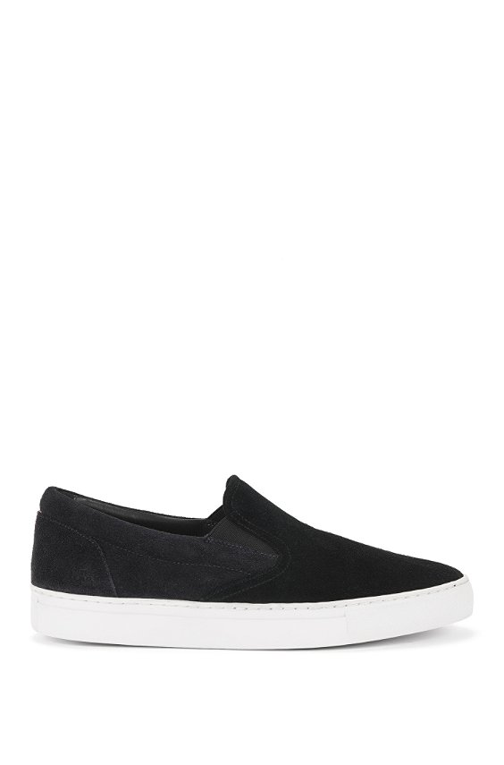 Leather loafers: 'Caslip', Black
