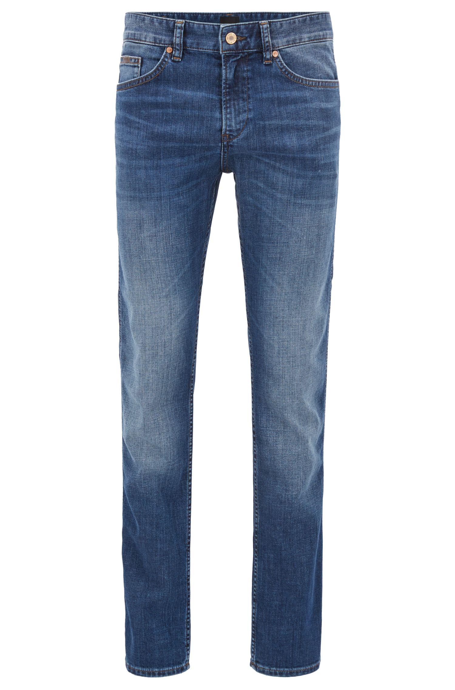Slim-fit jeans van een katoenmix met stretch: 'C-Delaware1'