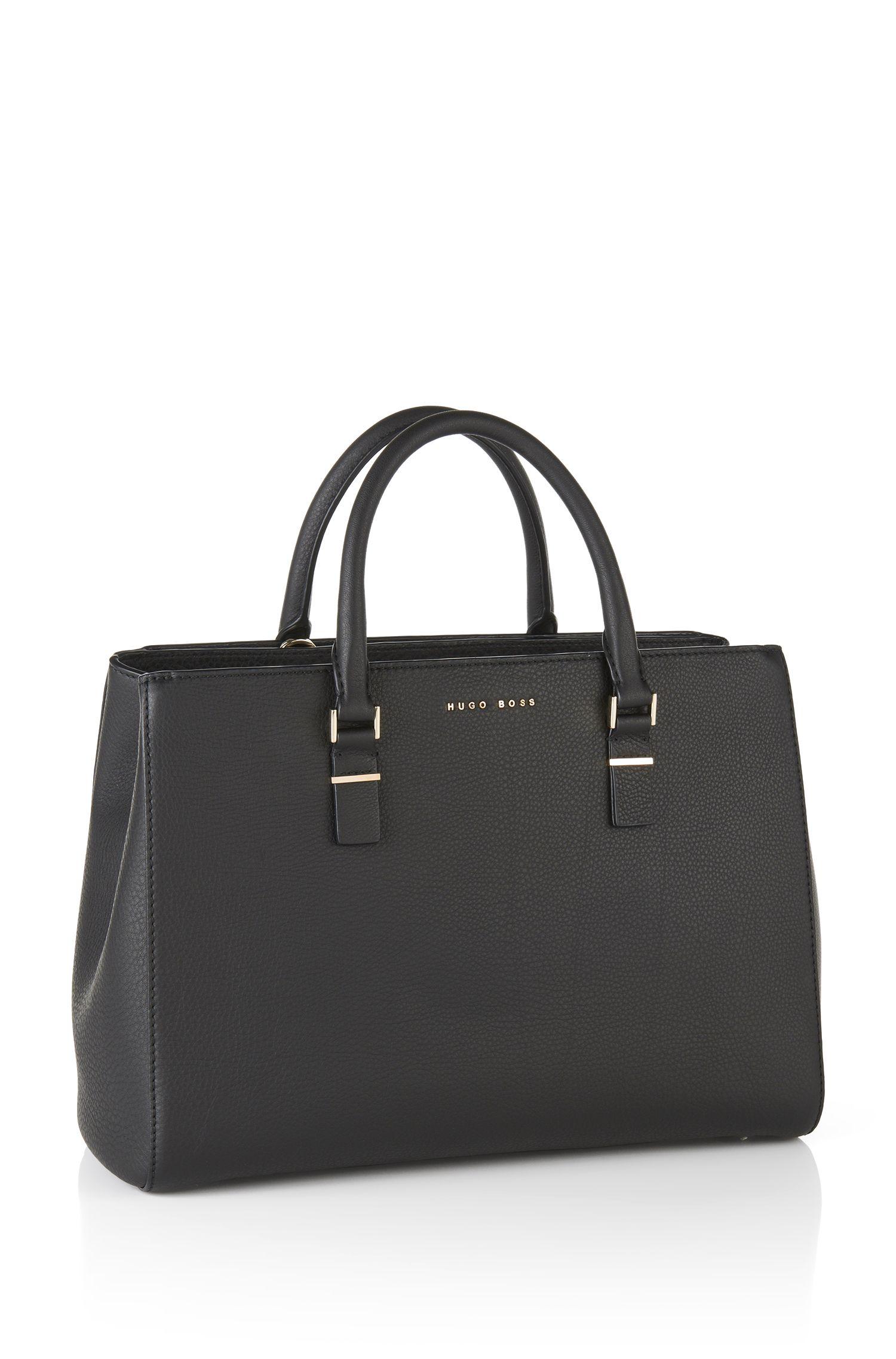Cabas en cuir imprimé: «Luxury Staple T. M-C»