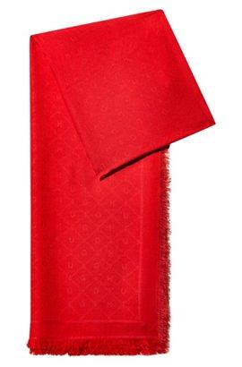 Floral scarf in habotai silk HUGO BOSS 3rpMrc8rY