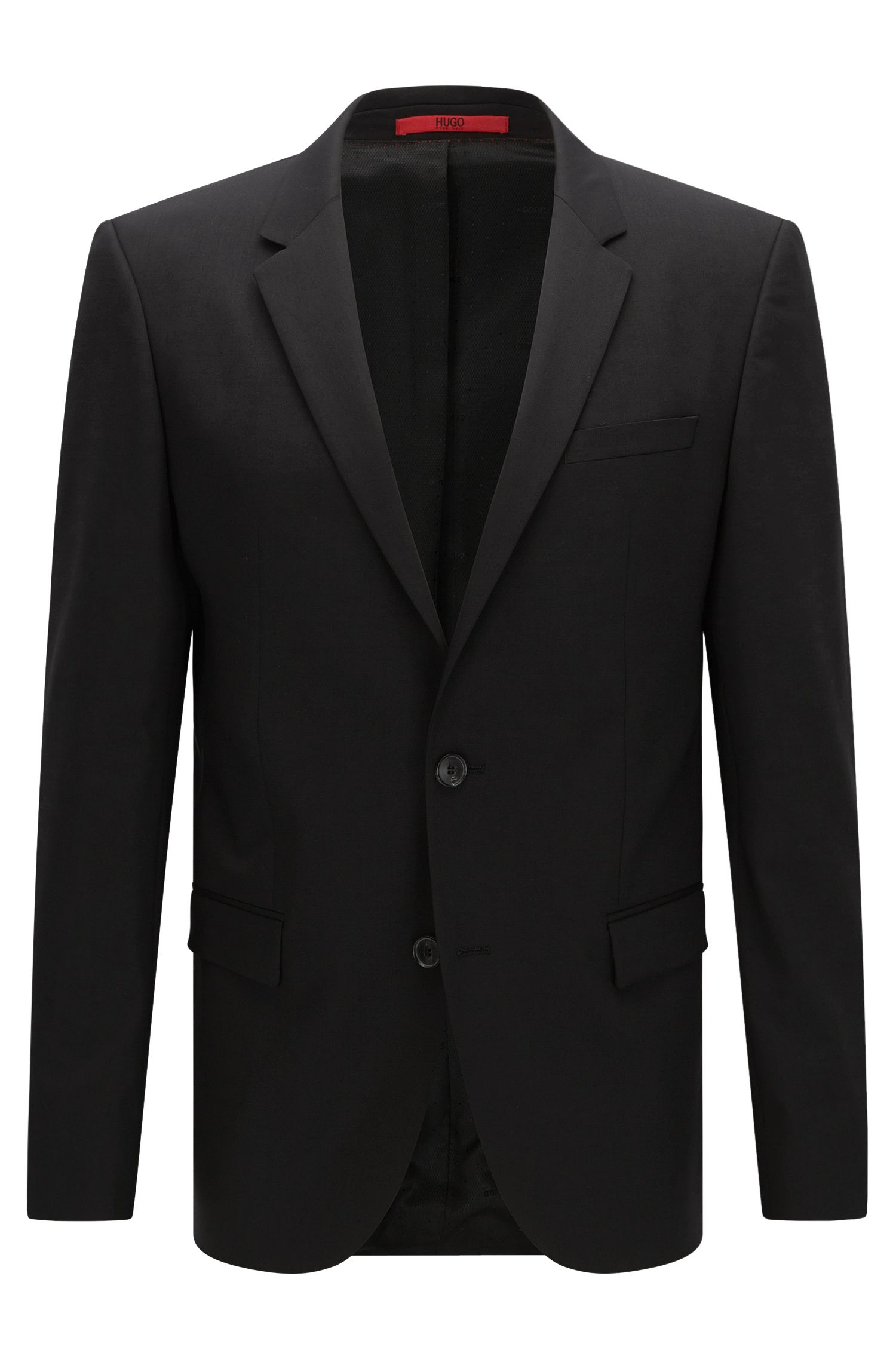 Veste de costume Slim Fit en laine mélangée