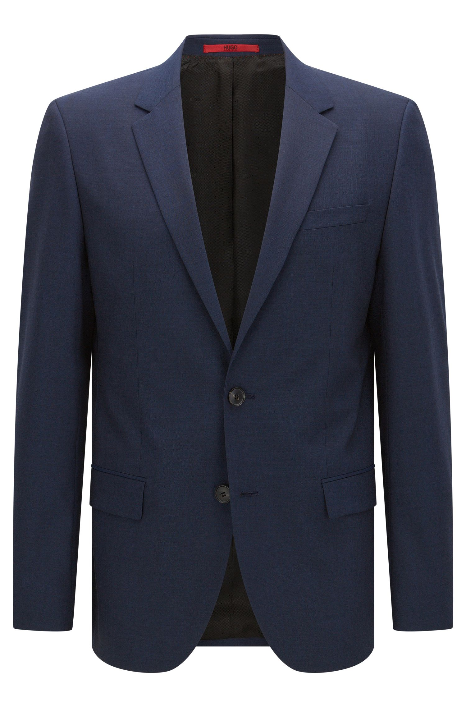 Slim-fit suit jacket in a wool blend
