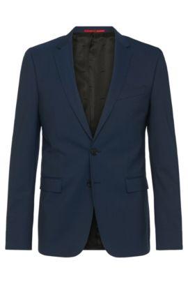 Extra Slim-Fit Anzug aus Schurwoll-Mix: 'C-RyanDNL', Dunkelblau